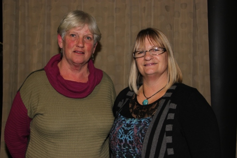 Activities Coordinator Dianne Fitzgerald & Community Development Worker Cherylan Davies