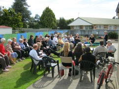 Memorial Service at Manuka Cottage