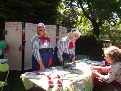 Tweedeldum & Tweedledee - Community Consultation at the Addington Fun Fair